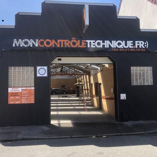 Centre de controle technique MONCONTROLETECHNIQUE.FR D'OUTREAU situé proche de OUTREAU, 62230